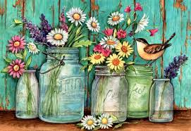 flowers in mason jars f1 flowers