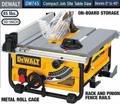 Best Table Saw For Under 300 Dewalt Dw745 Chainsaw Journal