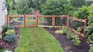Make Your Fence Of Deck Happen Fence Landscaping Diy Dog Fence Backyard Fences
