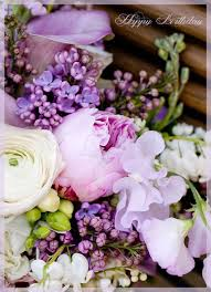 happy birthday flowers for facebook