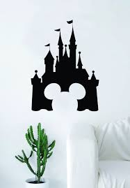 Disney Castle Mickey Mouse Decal Sticker Wall Vinyl Decor Art Movie Ba Boop Decals
