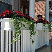 Deck Rail Planters Deck Balcony And Porch Railing Planters