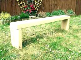 curved stone benches for garden bench