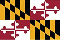 Amazon Com Jmm Industries Maryland Flag Md Vinyl Decal Sticker The Old Line State Car Window Bumper 2 Pack 5 Inches By 3 Inches Premium Quality Uv Resistant Laminate Pds326 Automotive
