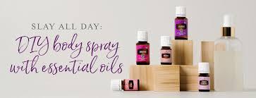 diy spray with essential oils