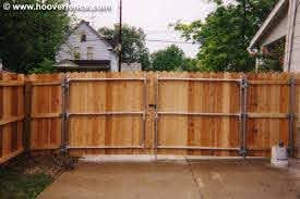 Wood Fence Styles Solid Dog Ear Hoover Fence Co Fence Gate Design Wood Fence Cedar Fence