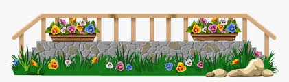 Png Royalty Free Download With Grass And Flowers Png Flower Fence Clipart Png Transparent Png Transparent Png Image Pngitem