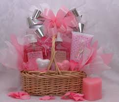 just for her small a gift basket full