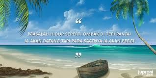 kata kata caption tentang ombak dan pasir pantai quotes