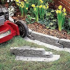 10 bedrock garden border