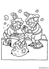 Sinterklaas Op Het Dak Kleurplaten Kleurplaten Eu