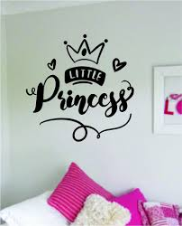 Little Princess Quote Wall Decal Sticker Home Room Decor Vinyl Art Bed Boop Decals