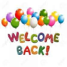 Welcome Back! - Welcome Back Newsletter