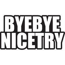 Bye Bye Nice Try Jdm Car Vinyl Sticker Decal