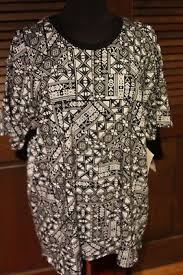 2xl black white geometric designs fm