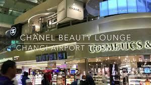 chanel beauty lounge singapore changi