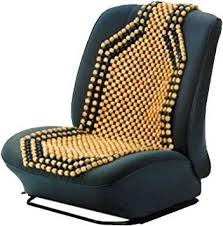 beaded car seat cover