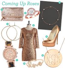 fabulous finds rose gold accessories