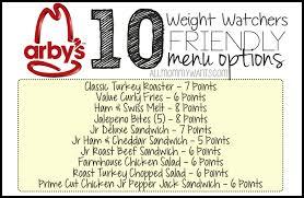 weight watchers friendly menu options