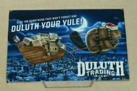 250 duluth trading co gift card no