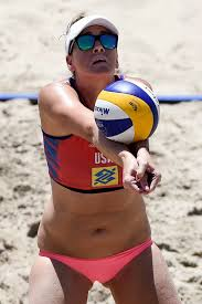Jennifer Fopma - Jennifer Fopma Photos - Brazil v USA Beach ...