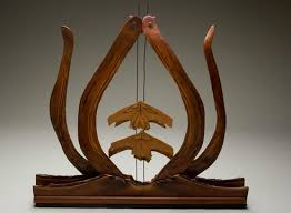 Wood Sculptures by Lynda Smith-Bugge at Adkins Beginning October 1