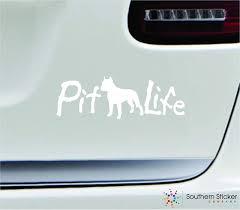 Best Vinyl For Car Decals Amazon Pitbull Life Dog 7x2 3 White Man S Best Friend Equalmarriagefl Vinyl From Best Vinyl For Car Decals Pictures