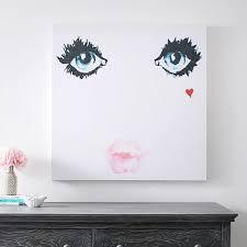Isabella Rose Taylor Face Canvas Art 39 X39 Wall Prints Pottery Barn Teen