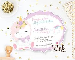 Unicorn Invitation Rainbow Unicorn Birthday Invite Magical Birthday Invitation Unicorn Birthday Invitation Set Of 2 Invitaciones De Cumpleanos Fiesta Con Tema De Unicornio Arcoiris Invitaciones Para Ninos