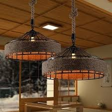 retro rh industrial pendant lamps light