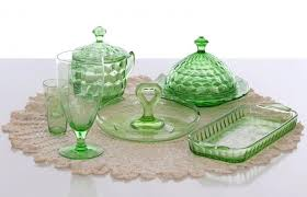 collecting depression glass for
