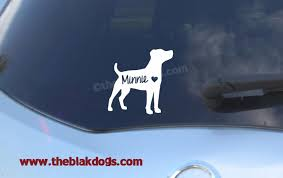Jack Russell Terrier Parson Russell Terrier Silhouette Vinyl Sticker Car Decal Personalized Blakdogs Vinyl Designs