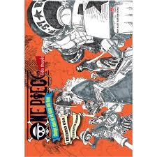 Sách - Tiểu thuyết One Piece - Chuyện chưa kể về băng mũ rơm - Oda ...