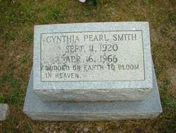 Cynthia Pearl Moses Smith (1920-1966) - Find A Grave Memorial