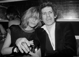 Rolling Stones - Keith Richards & Patti Hansen, NYC, 1983 | Bob Gruen