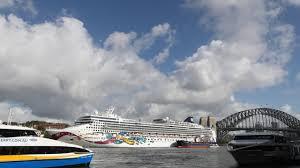 Cruise ship 'in lockdown' in Sydney ...