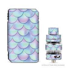 Skin Decals For Voopoo Drag Mini Kit Mermaid Scales Blue Pink Itsaskin Com