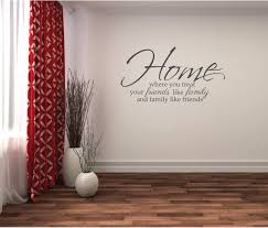 wall sticker family quote home friends family wall decor