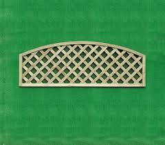 Bow Top Heavy Duty Diamond Lattice Trellis Platers Fencing Garden Buildings