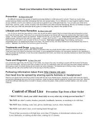control of head lice prevention tips