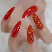 long length sti nails set