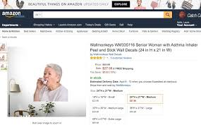 Laura J Watkins On Twitter Pinkyswearing 38 Search Result For Wall Decal A Life Size Sticker Of An Old Woman Using An Asthma Inhaler Wtf Https T Co 3tso8h6z1t