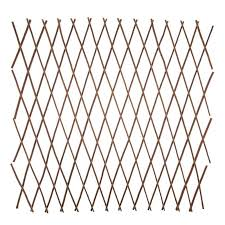 Garden Essentials Expanding Willow Trellis A Natural And Decorative Way To Support Plants Can Be Us Decorative Garden Fencing Cheap Fence Panels Fence Panels
