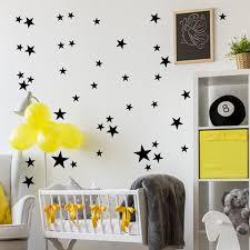 Womail 51pcs Star Removable Art Vinyl Mural Home Room Decor Kids Rooms Wall Stickers Walmart Com Walmart Com
