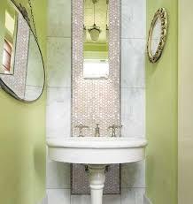 tiles penny round bathroom wall mirror tile