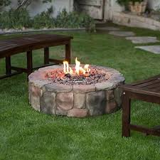 backyard campfire propane fire pit