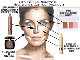 makeup s do you use to contour