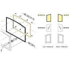 rsf delta glass window gasket kit