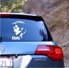 Elvis Vinyl Decal Sticker Texas Die Cuts