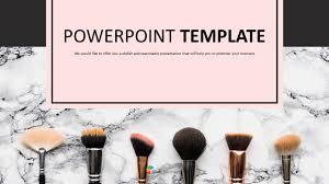various makeup brushes ppt free
